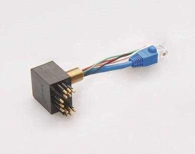 SubConn 13 Pin Low Profile Power and Ethernet Connector