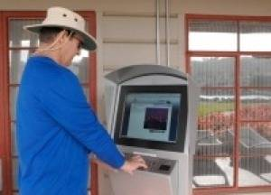 Port Mooring Kiosk: Photo courtesy of Port of San Diego