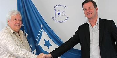 Clive Palmer & Fredrik Johansson