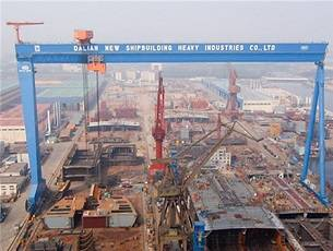 GE's drive system in action at the Dalian Shipyard. (Photo: GE)
