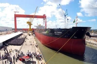 Sister Ship  'João Candido' in 2010: Photo courtesy of MAN