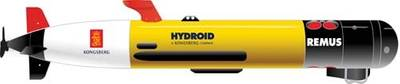 REMUS AUV: Image credit Hydroid
