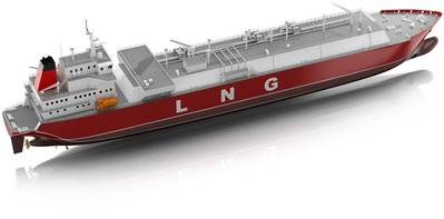 LNG Carrier: Image courtesy of ABB