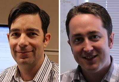 Jeremy Rice (left) and Zach McKinney (right)