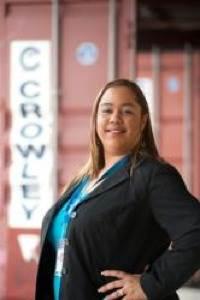 Crowley's Michelle Pacheco Rivera: Photo credit Crowley Maritime Corp.