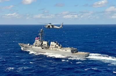 USS William P. Lawrence: Photo credit HII