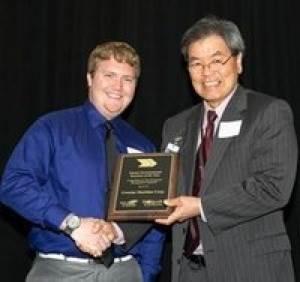 Port of Seattle Award Presentation: Photo credit Crowley