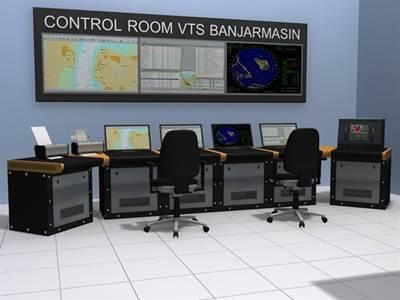 Traffic Control Station: Photo credit Transas