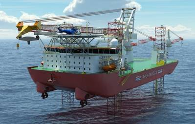 Seajacks Scylla: Image courtesy of Seajacks
