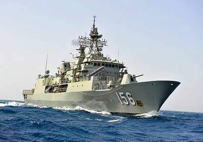HMAS Toowoomba (Photo: Royal Australian Navy)
