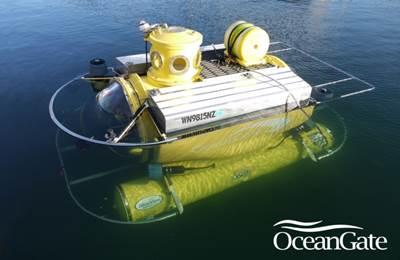 Submersible 'Antipodes': Image credit OceanGate
