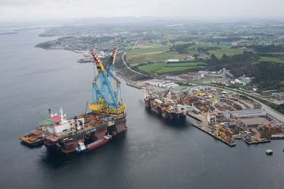 Saipem 7000 Crane Vessel: Photo credit Kongsberg Maritime