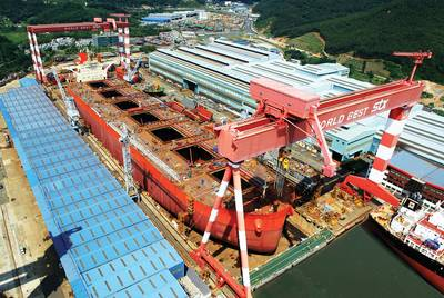 The Dry Bulk Market has been the posterchild for too much tonnage. Pictured is Vale Beijing, courtesy of STX.