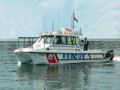 Port Hacking 30: Photo courtesy of Marine Rescue NSW