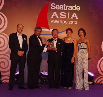 Noboru Ueda - Seatrade Asia Awards 2013