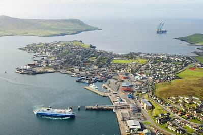 Lerwick Harbour: Photo courtesy of Maritime UK