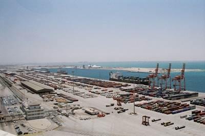 Port of Damman: Photo courtesy of the port
