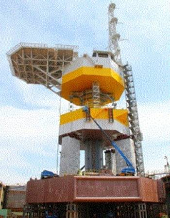 Floater & floating sub-station: Image credit MHI