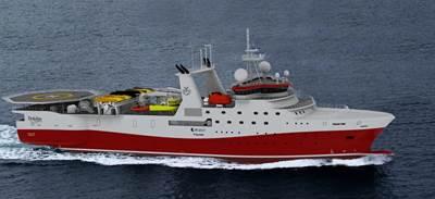 GC Reiber's seismic vessel: Image courtesy of MAN