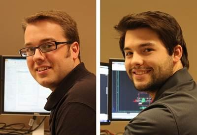 l to r: Kurt Jankowski, Justin Jones