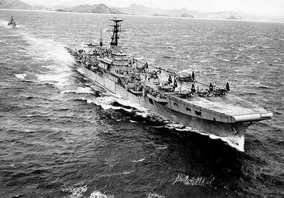 HMS Triumph (Official U.S. Navy Photograph, from the collections of the Naval Historical Center.)