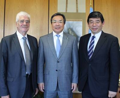 The heads of the International Civil Aviation Organization (ICAO), the International Maritime Organization (IMO) and the World Customs Organization (WCO) have met in London to discuss supply chain security and related matters, which cut across the mandates of the Organizations.