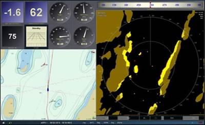 KH Surveillance Radar Display: Image courtesy of Kelvin Hughes
