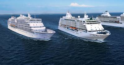 Company's Cruise Ships: Image courtesy of Regent Seven Seas Cruises