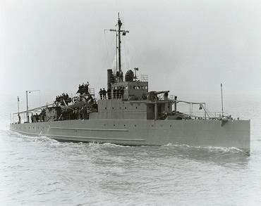 USS Eagle 2 (U.S. Navy photo)