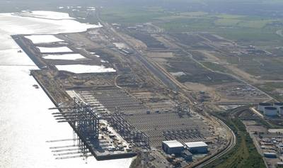 London Gateway Terminal: Photo courtesy of DP World