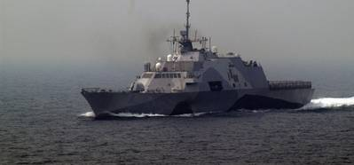 Littoral Combat Ship: Photo courtesy of USN