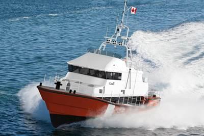 Canadian Coast Guard SAR Lifeboat: Photo courtesy of Robert Allan