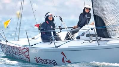 Oman Sail Team: Photo courtesy of J80 World Championships