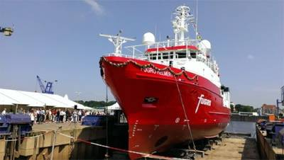 Fugro Helmert: Photo courtesy of Kongsberg Maritime