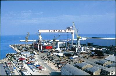 Ancona Shipyard: Photo courtesy of Fincantieri