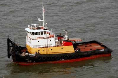 ex-PT Barrow push-tug: Photo credit Marcon International