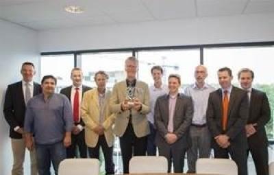 Damen receive Green T award: Photo credit Damen Shipyards