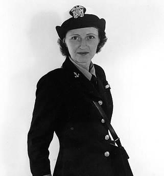 Joy Bright Hancock, (Official U.S. Navy Photograph, National Archives)