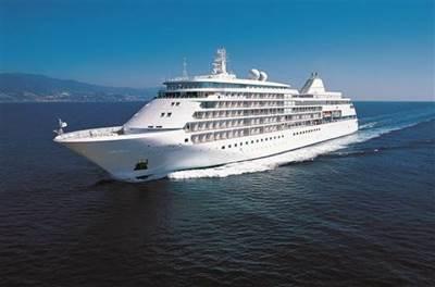 Silver Shadow: Photo courtesy of Silversea Cruises