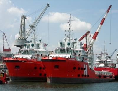 Otto Marine OSV's: Photo courtesy of Otto Marine