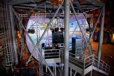 Inside the crane cabin: Image courtesy of Kongsberg GlobalSlim
