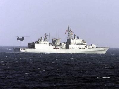 Kwanggaeto-class warship: Photo credit USN