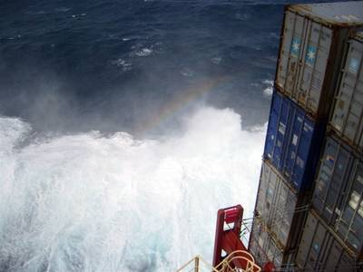 Triple-E Indian Ocean: Photo courtesy of Maersk Line