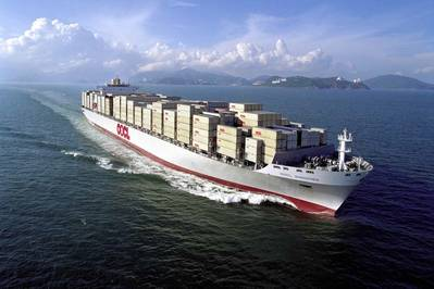 OOCL Shenzhen: Photo courtesy of OOCL