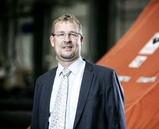 Benny Carlsen, VP Offshore, Viking Life-Saving Equipment