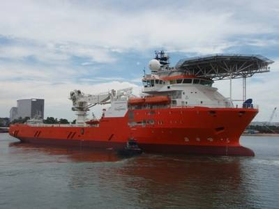 CSV Normand Clough: Photo courtesy of Solstad Offshore
