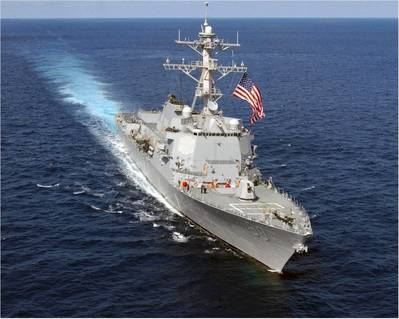 USS Chafee: Photo courtesy of USN