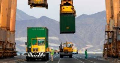 Khorfakkan Container Terminal: Image courtesy of Gulftainer
