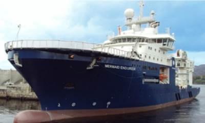 Mermaid Endurer: Photo courtesy of Mermaid Maritime