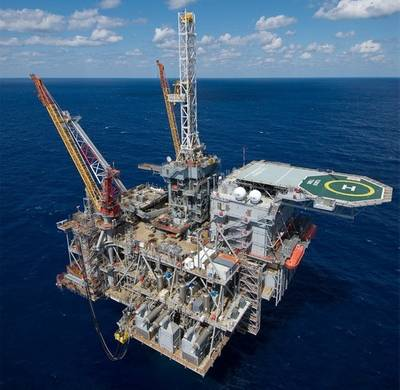 Perdido Spar Platform: Photo credit Shell